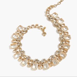 NWT J. Crew Cluster Stone Necklace